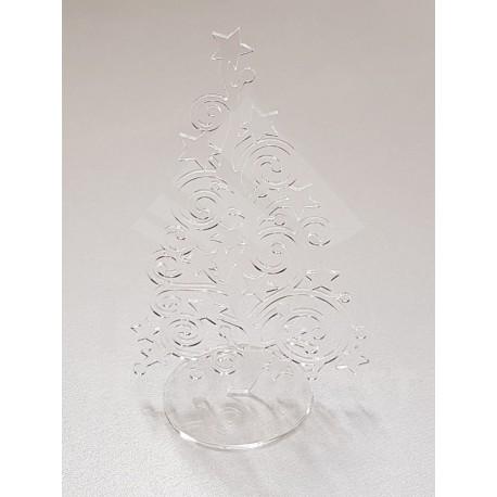 Vianočná ozdoba - stromček číry
