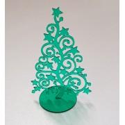 Vianočná ozdoba - stromček zelený