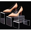 Stojany na obuv z plexiskla - KOMPLET