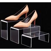 Stojan na obuv z plexiskla KOMPLET