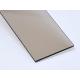 Plný polykarbonát s UV, Bronz