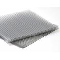 Dutinkový polykarbonát 10mm 4W/7 - 4 steny IR Control GREY