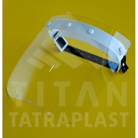 Ochranný štít tváre a očí TITAN 2