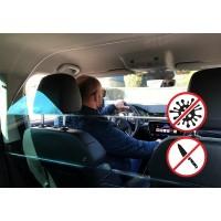Ochranný štít SAFETY CAB pro vozy Škoda Superb 3