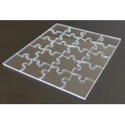 BASIC - číre puzzle z plexiskla