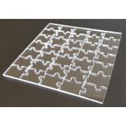 NORMAL - číre puzzle z plexiskla