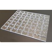 SEMI-PRO - číre puzzle z plexiskla