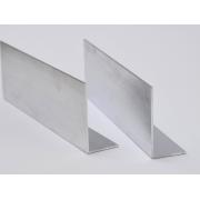 Hliníkový L - Profil, 20x15x2mm, Strieborný Elox