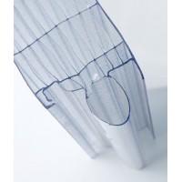 Rodeca zámkový panel 40mm, 2540-10, Crystal