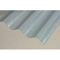 Sklolaminátová rola, hrúbka 0,8mm, vlna 76/18, modrá, rola 30m