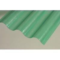 Sklolaminátová rola vlna, hrúbka 0,8mm, 76/18, zelená, rola 30m
