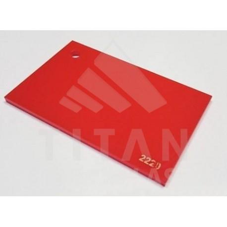 Plexisklo XT, 3mm - červená 2220