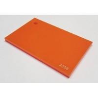 Plexisklo XT, 3mm - oranžová 2350