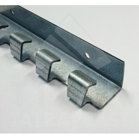 Kotviacia lišta FeZn 2mm, na PVC pásy L2000mm