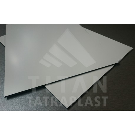 Kompozitný panel 3/0,21x1500x4050mm, biela matná/primer