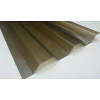 Polykarbonátový trapéz krupičkový SPECIAL, bronzový, 0,8mm, 76/18, UV2