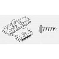 Bal. PVC spona+skrutka pre hliníkové profily(9523)