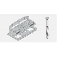 Bal. PVC spona+skrutka pre profil Twinson 9552