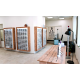 Veľkoplošné stojany na okuliare z opálového plexiskla