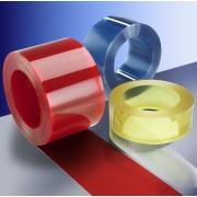 Mäkčené PVC závesy - prírezy