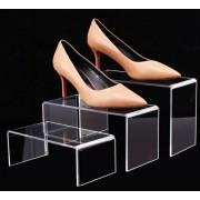 Stojany na obuv z plexiskla