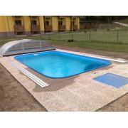 Dosky z polypropylénu na stavbu bazénov: